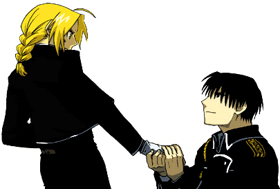 Okay, but [b][i]I'm[/i][/b] the one proposing. And of course Edward Elric will accept. He has no other choice. ;) He's all [b]mine![/b] <3