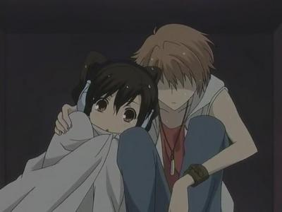I really love Tamaki&Haruhi but i also like Hikaru&Haruhi. They are cute together. I'd like to see that happen.