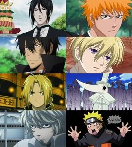 S-Sebastian I-Ichigo X-Xanxus T-Tamaki E-Edward Elric E-Excalibur N-Near