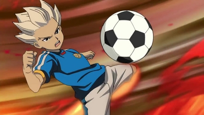 Gouenji Shuuya is one of the main characters in the Inazuma Eleven game, manga and anime. He was formerly the ace striker of Kidokawa Seishuu, then the ace striker of Raimon, and later of Inazuma Japan.