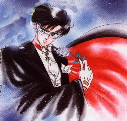 lol well, to me, there's quite a few XDD But the one that tops it all off is none other than TUXEDO MASK!!! :DDDD I mean, LOOK AT HIM!! He's handsome, charming, and very caring towards Usagi and Chibi-Usa. He's just perfect, in my opinion ^^