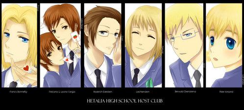 Hetalia High School Host Club ^^