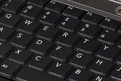 I play the keyboard.