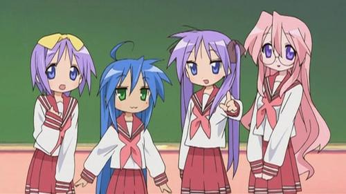 Lucky 星, 星级 uniform ^_^