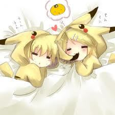 ((Rin and Len Kagamine from Vocaloid :D))