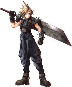 구름, 클라우드 Strife from final 판타지 7! He's the hottest final 판타지 character! <3
