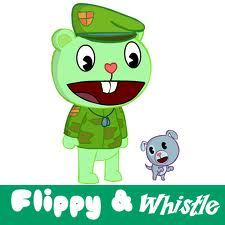 Flippy and Whistle! perfect pair. :3