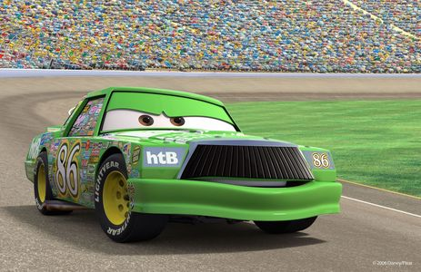 From my kegemaran Disney Pixar film of all time, Cars. Chick Hicks ._. Don`t judge me... -_-