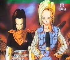 The devastating twins, 17 and 18 from dbz
