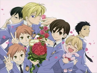 OHSHC! Though only Hikaru and Kaoru are doing...