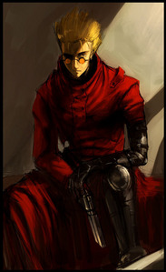 I upendo this art work NO its not mine (i wish) XD hope thats ok Vash the Stampede