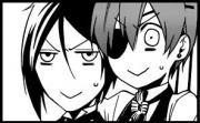 Pretty much everyone in Black Butler except for Tanaka.