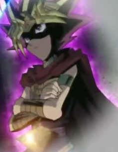 The Anonymous Pharaoh from Yu-Gi-Oh!,If I recall if of Egyptian Decent.