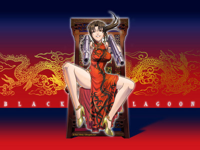Revy - Black Lagoon, shes Chinese