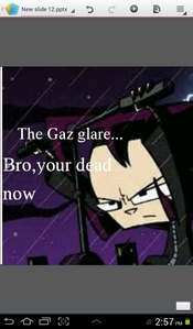 Bro. Why,just why???? Your 问题 has made Gaz upset.....