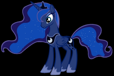 1. The creatures of MLP probably wanted her to look a little madami 'princessy' if u know what I mean. 2. Mabye it is because she is high in the royal family ad she is THE princess of the night!!