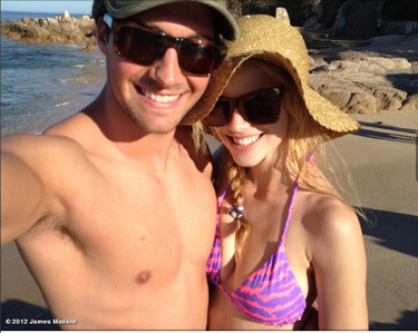 No hes not gay hes dating Halston Sage I can understand why shes dating him hes hot