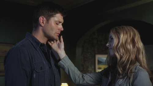 Dean & Jo No, they never got together. At the end of No Exit, they part on bad terms (Jo is upset thinking about her father's death and lashes out at Dean, I think this lowers his opinion of her a bit). The last time we see Jo is in Born Under a Bad Sign when the Meg demon, possessing Sam, goes after her. Dean shows up and fights Meg, then he and Jo have a sedate disillusioned parting. they never got a chance to be together