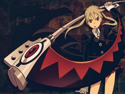 Though Maka was probably Japanese born hence the name and the clothing style, she lives in Death City which I'm pretty sure is in Navada, so she lives in America. :I This is honestly the best I've got. XD