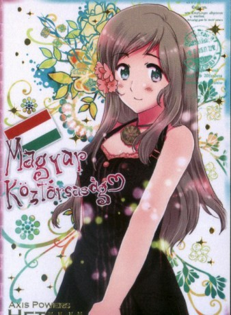 """Hungary from Hetalia. Beware her frying pan of doom! Oh and don't plan on stealing Austria's """"happy place""""..."""
