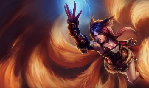 Firefox Ahri from League of Legends.