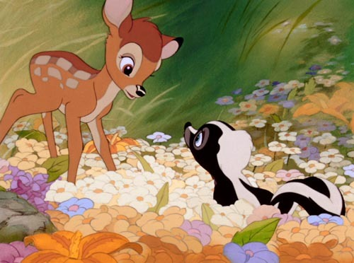 Bambi....... he's my favorite.