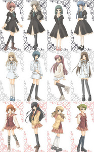 ((I 爱情 the 草莓 Panic! uniforms, they're really cute!))