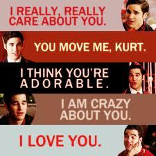 I am poor and Kurt is Blaine's true love.