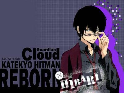 Hibari Kyoya-kun from Katekyo Hitman Reborn!<333333