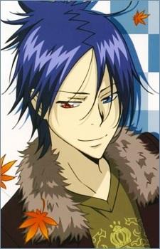 Rokudo Mukuro-kun from KHR! He's not Japanese,he's Italian....