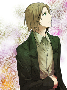 Hmm..... since someone already took Romano, I'll go with Lithuania<3