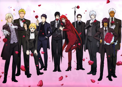 black butler is a good one