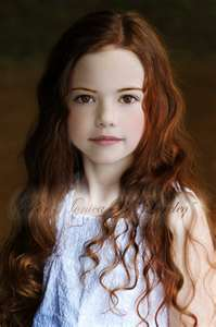 The Renesmee played in the flashfoward scene in part 1 was mackenzie just computer generated this girl will not play the older nessie MAckenzie will and she will be computer generated. MAckenzie foy will be as the renesmee's