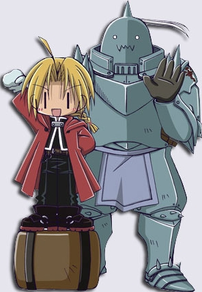 Edward and Al from FMA ^^