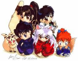 my frist toon inuyasha my frist read alice and the countery of harets