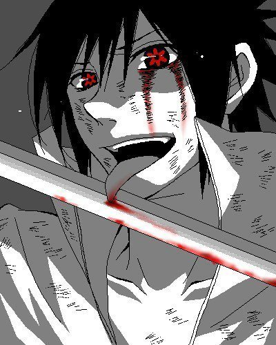Post a bloody Anime character.