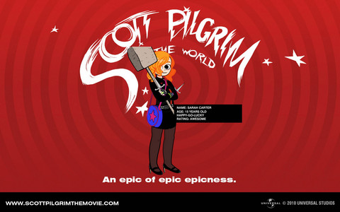 Q: What would tu look like as a Scott Pilgrim VS The World Character?