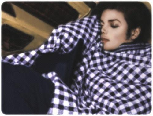 Michael look so sexy when he sleep....what u think?