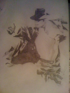 Do wewe like this picture I draw little evidence of upendo for M.J.
