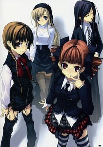 Post an Anime pic that resembles u & your friends!