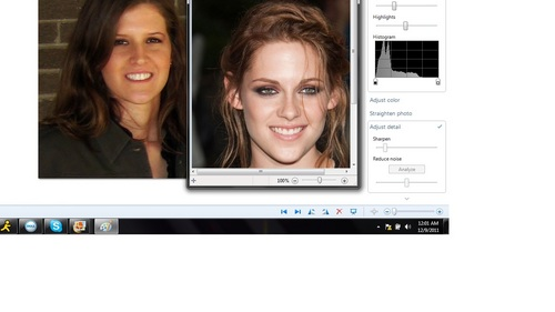 Do I look like Kristen Stewart? Because strangers stop me to tell me that I look like Kristen and sometimes I see it a little but for the most part I don't see it...looking for opinions.....?