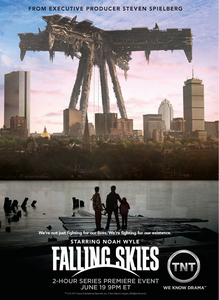 Have you seen the Tv drama called Falling Skies? Do you think it could be a The Host inspired drama?