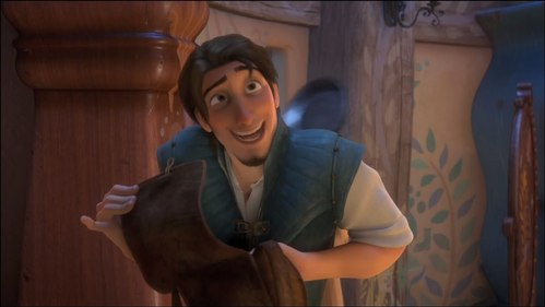 What is your most FUNNIEST favorito scene in Tangled.....like mine is when Rapunzel hits Flynn with her frying pan..... bt lets just say Tangled.....BEST MOVIE EVER!!!!!