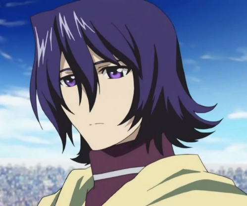 A Anime Character With Purple Eyes Ou Purple Hair Anime Reponses