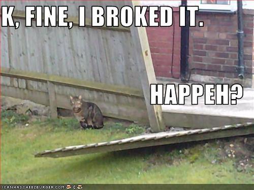 Have Ты ever broken something out of frustration?