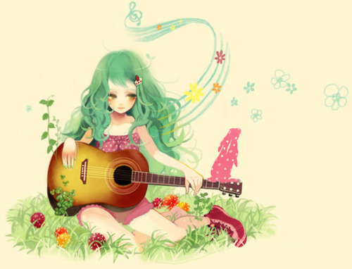 Post an anime musician please. :D
