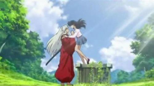 post a screen cap, herufi kubwa of one of your inayopendelewa episodes of Inuyasha