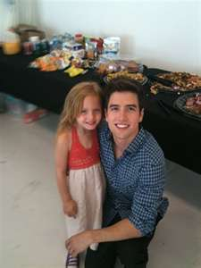 Is the little girl in the picture Logan's baby sister????