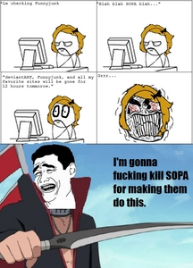 Are you against SOPA?