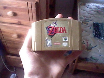 who wants 2 buy my legand of zelda ocarina of time video game 4 the Nintendo 64